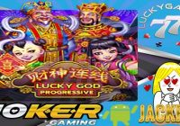 Lucky God Progressive Game Judi Slot Online Joker123